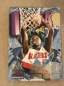 1996-97 Skybox Z Force Basketball JERMAINE O'NEAL RC #159 Blazers.