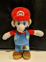 "Nintendo Super Mario Plush Toy Mario Doll Stuffed Animal Toy 10""  Preowned"