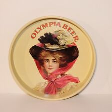 Olympia Beer Tray - Lady