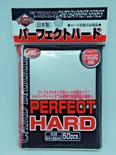1x KMC CARD  50pcs  Perfect Fit Hard Sleeves for  89x64mm F/S