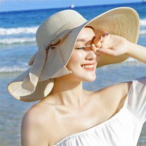 sombrero de paja de ala grande gorra de sol para playa sombreros modernas moda