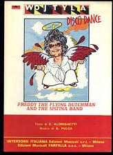 WOJTYLA DISCO DANCE # FREDDY THE FLYING DUTCHMAN & THE SISTINA BAND - SPARTITO