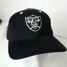 Vintage Raiders Hat KIDS NFL Logo Athletic Strapback Cap NOS With Tag Football
