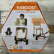 Kaboost••Portable Chair Booster••Improves Chair Stability••New In Box••Chocolate