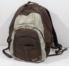 Dakine Laptop Backpack School/Travel Bag Brown Plaid