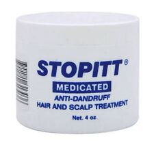 Stopitt Medicated Anti-Dandruff Hair - Scalp Treatment, 4 oz (Pack of 4)