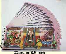 100pcs. Giant Chinese Heaven Hell Money Bank Notes $8000,000,000 Joss Paper lot