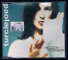 PAOLA TURCI SALUTO L'INVERNO  CD SINGOLO SINGLE  cds COME NUOVO!!!
