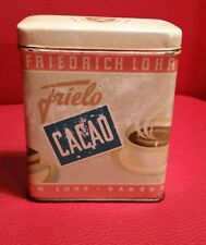 antike Blechdose Kakao frielo Kakaodose Original Tante emma cacao