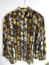 ASHLEY STEWART SIZE 16 Blouse shirt top polyester DRESS Career Wear