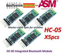 5pcs HC-05 Integrated Bluetooth Module Wireless Serial Port Module HC05
