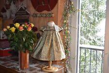 robe neuve tartine et chocolat 18 mois dore noir nocturne baby ephthemere