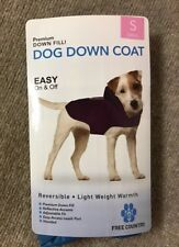 New listing New Free Country Down-filled Small Blue dog coat