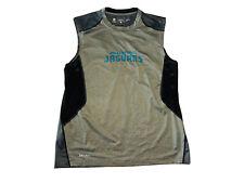 New listing Nike Dri-Fit NFL Jacksonville Jaguars On Field Apparel Men's Sleeveless Shirt; L