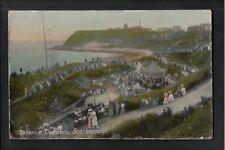 L@@K   Clarence Gardens Scarborough 1908 Postcard ~ Yorkshire ~ SPACE FILLER