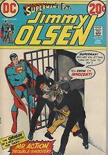 Superman's pal JIMMY OLSEN # 155 VF-NM  January 1973 Mr. Action Judas Olsen
