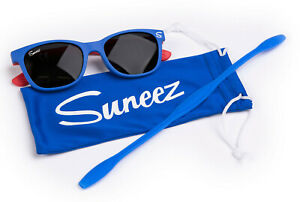 Suneez Polarized Kids Sunglasses for Boys Girls Age 4 - 10, 100% UV protection.
