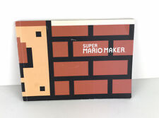 Super Mario Maker Artwork BOOK ONLY Paper Scrapbook Nintendo 2015