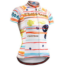 FIXGEAR womens cycling jersey shortsleeve L