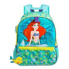 Disney Store The Little Mermaid Princess Ariel Girl School Backpack