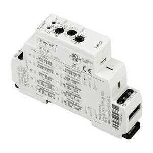 DAYTON 31EE11 Time Delay Rlay,12 to 240VAC/DC,15A,SPDT
