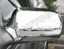 2000 2001 2002 2003 2004 2005 CADILLAC DEVILLE DTS DHS CHROME MIRROR COVERS SET
