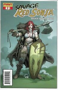 SAVAGE RED SONJA #1 BALTIMORE COMICON GOLD FOIL VARIANT NM- FRANK CHO LIM TO 500