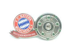 FC Bayern München Pin Anstecker Fussball Deutscher Meister 1990 Bundesliga #522