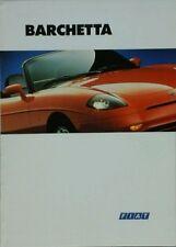 FIAT Barchetta BROCHURE-OTTOBRE 1995 20m OTTOBRE .95.a1201 #5