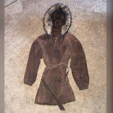 Wilson's Leather adventure bound Suede Coat