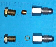 2 x LPG Autogas 8mm to 6mm Flexi, copper, Pipe Fitting, Connector, stepper