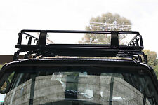 NISSAN PATROL GU 2005 FULL STEEL ROOF RACK GUTTER MOUNTED BASKET UNIVERSAL