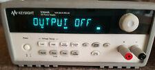 KEYSIGHT E3644A DC PSU dual range 0-8V/ 8A  0-20V/ 4A 80W. GPIB RS232