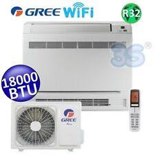 3S CLIMATIZZATORE GREE R32 WiFi mono CONSOLE PAVIMENTO 18000 BTU A+++ A+ 5.0 kW