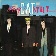 "7"" Stray Cats – Stray Cat Strut // UK 1981"