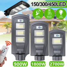 2700W 270000LM LED Solar Street Light Motion Sensor High Bright Wall  F