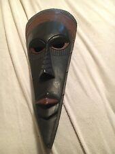 handcarved african masks