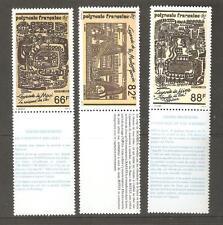 1989  FRENCH POLYNESIA  - POLYNESIAN LEGENDS  - SG 577 / 579 UMM