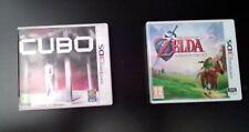Zelda ocarina of time  Nintendo 3DS Y Cubo Nintendo 3DS