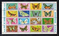 Guinea Ecuatorial Fauna Mariposas año 1974 (DN-883)