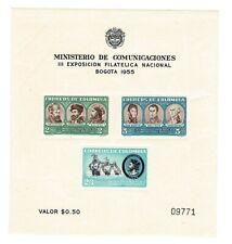 Brazil Souvenir Sheet Scott #642A Mnh Vg Catalog Value $29.50!