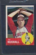 1963 Topps #194 Joe Nuxhall Reds VG/EX *730
