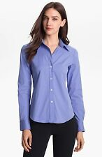 Lot 3 x Theory Luxe Stretch Cotton Long Sleeve Button Down Shirts P Petite XS S