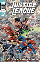 JUSTICE LEAGUE #40 - BRYAN HITCH MAIN COVER A DC COMICS 2020