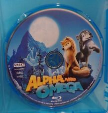 ALPHA AND OMEGA, BLU RAY SINGLE DISC W/BLU-RAY CASE.  NO COVER ARTWORK