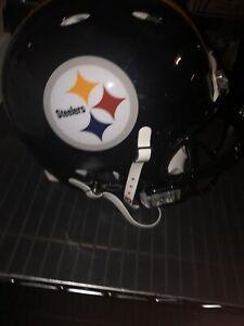 Pittsburgh Steelers NFL Riddell Revolution On Field Authentic Football Helmet