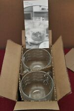 3600 Princess House Fantasia Soup / Latte Mugs Pair 20 oz NIB RET