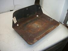 1969 Wheel Horse Workhorse 700 Garden Tractor Part :  Metal Seat Pan