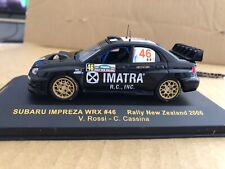 Valention Rossi 1:43 Subaru WRX Rally Car