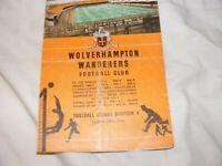 1960 Wolverhampton Wanderers v Barcelona [European Cup]